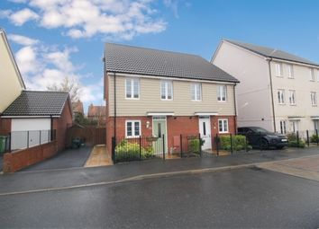 Thumbnail 2 bed semi-detached house for sale in Mulligan Drive, Exeter
