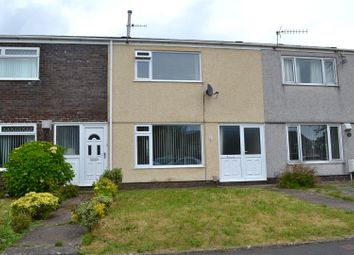Thumbnail 2 bed terraced house for sale in Aneurin Way, Sketty, Swansea