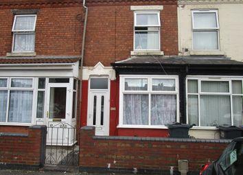 Thumbnail 2 bed terraced house for sale in Gilbert Road, Edgbaston, Birmingham