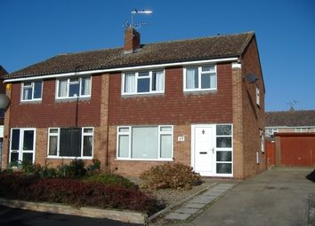 Thumbnail 3 bed semi-detached house to rent in Barsby Drive, Loughborough