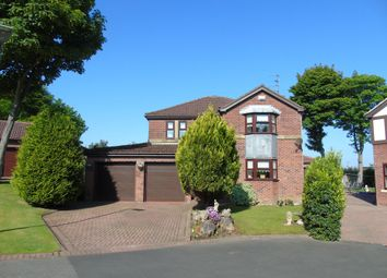 Thumbnail 4 bed detached house for sale in The Hollow, Ashington