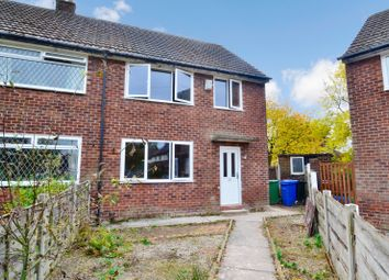 Thumbnail 3 bed semi-detached house to rent in Cherry Tree Close, Romiley, Stockport, Greater Manchester