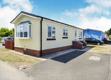 Thumbnail 1 bed mobile/park home for sale in Grove Park, Magazine Lane, Wisbech
