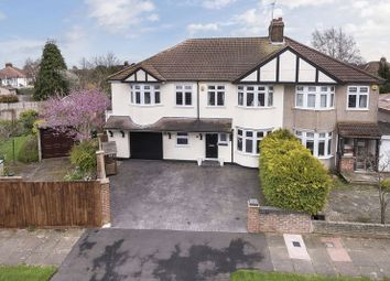 Thumbnail 4 bed semi-detached house for sale in St. Margarets Avenue, Sidcup