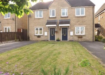 Thumbnail 3 bedroom semi-detached house for sale in Tewit Close, Halifax, West Yorkshire
