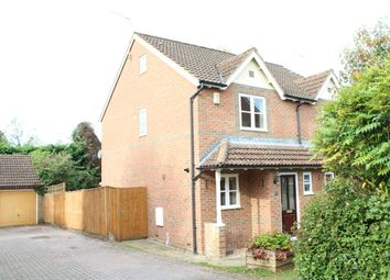 Thumbnail 3 bed semi-detached house for sale in Hamblin Meadow, Hungerford