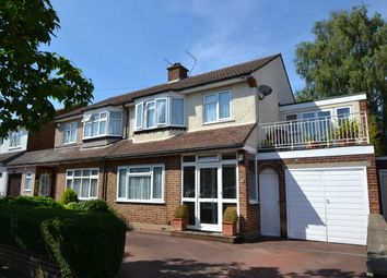 Thumbnail 4 bed semi-detached house for sale in Grenville Avenue, Broxbourne