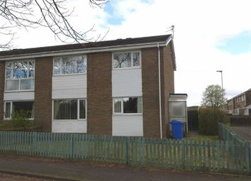 Thumbnail 2 bed flat for sale in Linslade Walk, Cramlington
