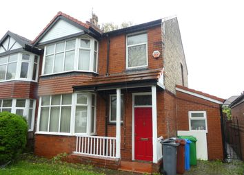 Thumbnail 6 bed semi-detached house to rent in Mauldeth Road West, Withington, Manchester