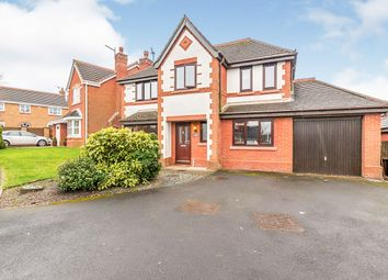 Thumbnail 4 bed detached house for sale in Dewberry Fields, Upholland, Skelmersdale, Lancashire