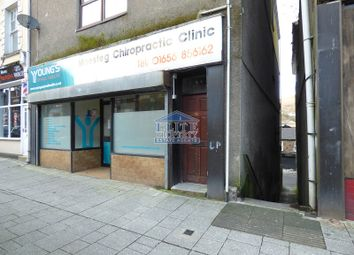 Thumbnail Retail premises to let in Commercial Street, Maesteg, Bridgend.