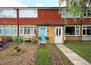 Thumbnail 2 bedroom terraced house to rent in Hillside Gardens, Addlestone, Surrey