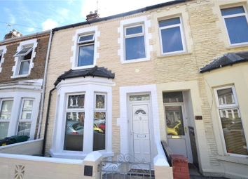 Thumbnail 3 bed terraced house for sale in Strathnairn Street, Roath, Cardiff