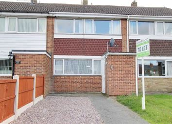 Thumbnail 3 bed terraced house to rent in Hazel Avenue, Chesterfield, Derbyshire