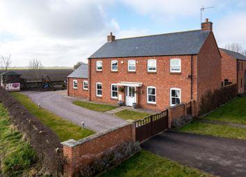Thumbnail 4 bed detached house for sale in Roman Road, Moulton Chapel, Spalding