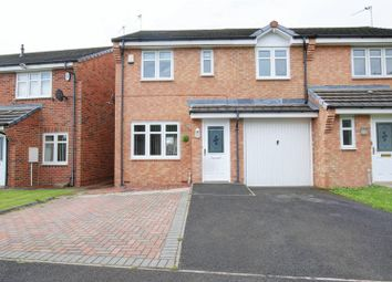Thumbnail 3 bed semi-detached house for sale in Blackthorn Drive, South Beach Estate, Blyth