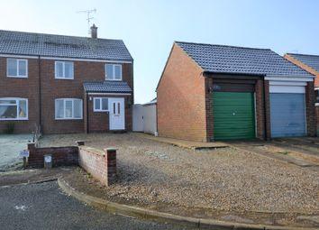 Thumbnail 3 bedroom semi-detached house for sale in Gwyn Crescent, Fakenham
