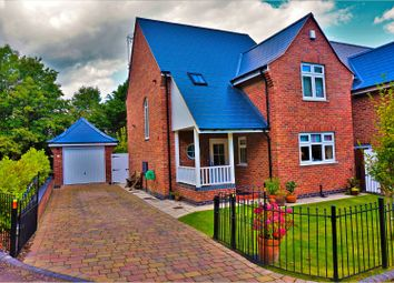 Thumbnail 3 bed detached house for sale in Church Hall Walk, Pontblyddyn