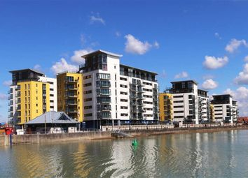 Thumbnail 4 bed flat for sale in Midway Quay, Eastbourne