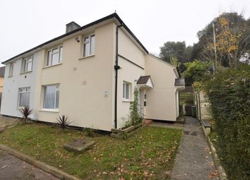 Thumbnail 1 bedroom flat for sale in Boscastle Gardens, Manadon, Plymouth, Devon