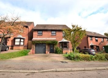Thumbnail 4 bed detached house for sale in Downsway, East Hunsbury, Northampton