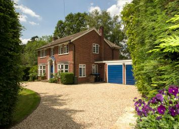 Thumbnail 4 bed detached house for sale in Mile Path, Hook Heath, Woking