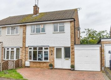Thumbnail 3 bed semi-detached house for sale in Garden Fields, Stebbing, Dunmow