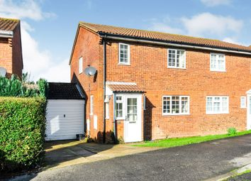 Thumbnail 3 bed semi-detached house for sale in Burhill Way, St. Leonards-On-Sea