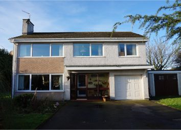 Thumbnail 5 bed detached house for sale in The Links, Amlwch