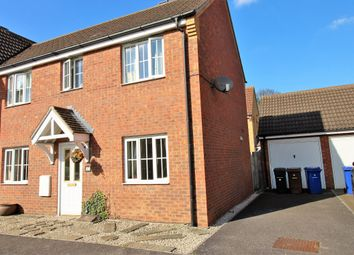 Thumbnail 3 bedroom semi-detached house to rent in Hodges Close, Grays