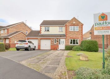 Thumbnail 4 bed detached house for sale in Sorrel Way, Scunthorpe