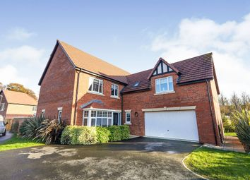 Thumbnail 5 bed detached house for sale in Chaworth Close, Damstead Park, Alfreton