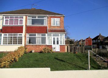 Thumbnail 3 bed semi-detached house for sale in Lynton Avenue, Tettenhall, Wolverhampton