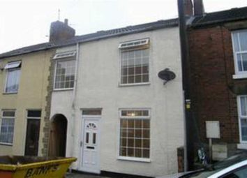 Thumbnail 3 bed terraced house to rent in London Street, New Whittington, Chesterfield, Derbyshire