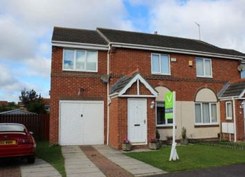 Thumbnail 4 bed semi-detached house for sale in Greensfield Close, Faverdale, Darlington