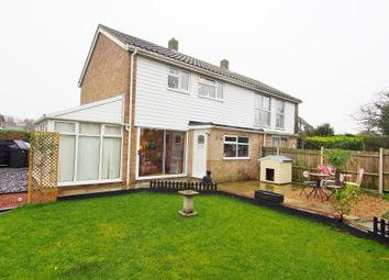 Thumbnail 3 bedroom semi-detached house for sale in Rothbury Road, Wymondham