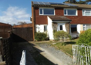 Thumbnail 4 bed semi-detached house to rent in Evergreen Road, Frimley, Camberley