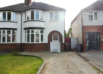 Thumbnail 3 bed property to rent in Delrene Road, Shirley, Solihull