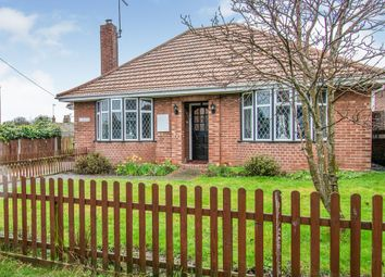 Thumbnail 2 bedroom detached bungalow for sale in Green Lane, Kessingland, Lowestoft