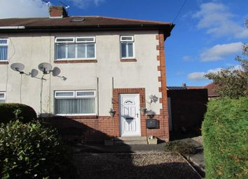 Thumbnail 2 bed semi-detached house for sale in Alnwick Terrace, Wideopen, Newcastle Upon Tyne
