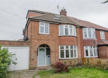 Thumbnail 4 bedroom semi-detached house for sale in Heslington Lane, Heslington, York