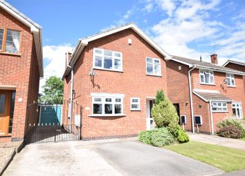 Thumbnail 4 bed detached house for sale in The Crescent, Stanley Common, Ilkeston