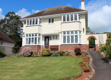 Thumbnail 4 bed detached house for sale in Herbert Road, Chelston, Torquay