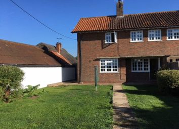 Thumbnail 3 bed end terrace house to rent in Stoke Charity, Winchester