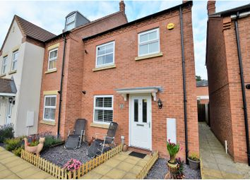 Thumbnail 3 bed semi-detached house for sale in Chatsworth Walk, Middlemore, Daventry