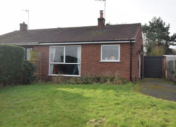 Thumbnail Semi-detached bungalow for sale in Hastings Close, Breedon-On-The-Hill, Derby