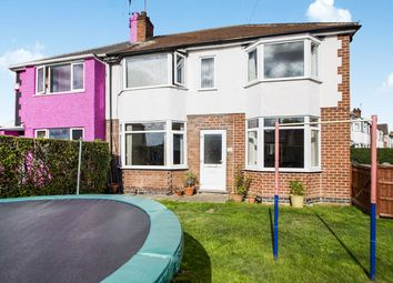 Thumbnail 4 bed semi-detached house for sale in Carrfield Avenue, Toton, Nottingham
