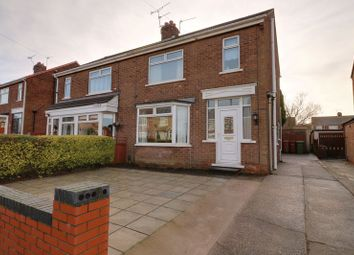 Thumbnail 3 bed semi-detached house for sale in Stanley Road, Scunthorpe