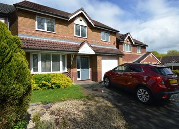 Thumbnail 4 bedroom detached house to rent in Norwich Drive, Randlay, Telford