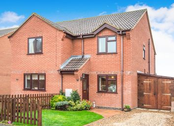 Thumbnail 2 bed semi-detached house for sale in Two Fields Way, Bawdeswell, Dereham